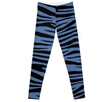 0581 Blue Yonder Tiger Leggings