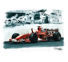 2004 Ferrari F2004 Photographic Print