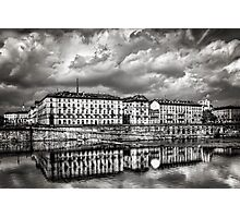 A Cloudy Day in Turin  Photographic Print