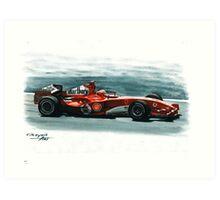 2005 Ferrari F2005 Art Print