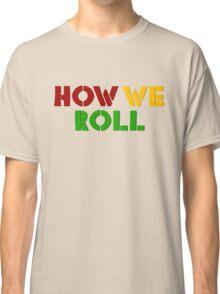 Reggae Weed Rasta Marijuana Cool T-Shirts Classic T-Shirt