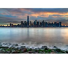 Manhattan Sunrise Photographic Print