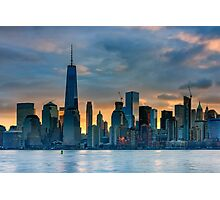 Winter Sunrise New York City Photographic Print