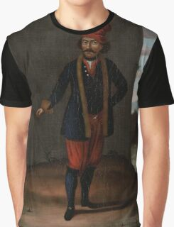 Man from the Island of Kithnos (Thermia), workshop of Jean Baptiste Vanmour, Graphic T-Shirt