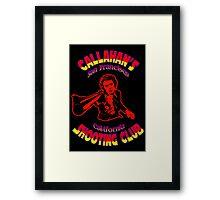 Callahan's Shooting Club Colour 3 Framed Print