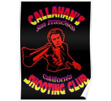 Callahan's Shooting Club Colour 3 Poster