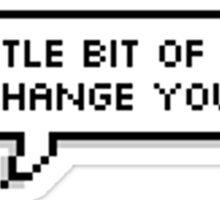 All Night lyrics 8-bit Sticker