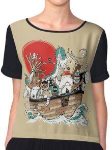 Miyazaki's Ark Chiffon Top