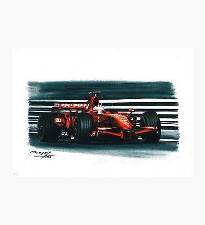 2007 Ferrari F2007 Photographic Print