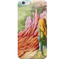land of peaches starting  iPhone Case/Skin