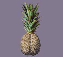 Pinebrain (pineapple) Kids Tee