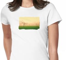 Morning Fog  - JUSTART ©  Womens Fitted T-Shirt