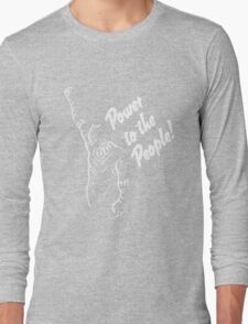 Power to Wakanda Long Sleeve T-Shirt
