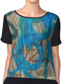 Scribbled Art Women's Chiffon Top