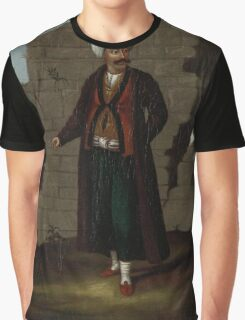 man from the Island of Mykonos, workshop of Jean Baptiste Vanmour, Graphic T-Shirt