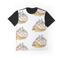 Horned Helmet Snail Graphic T-Shirt