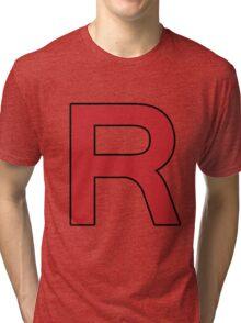 Pokemon - Team Rocket Logo Tri-blend T-Shirt