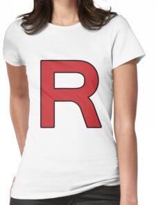 Pokemon - Team Rocket Logo Womens Fitted T-Shirt
