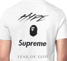 Hype Bape Supreme Fear of God Unisex T-Shirt
