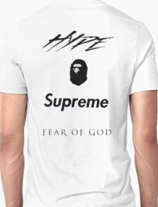 Hype Bape Supreme Fear of God Unisex T-Shirt