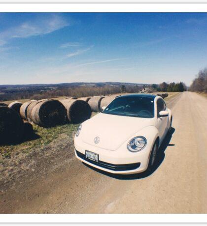 Volkswagen Beetle Love Sticker