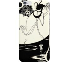 Aubrey Beardsley - Fantasy Illustration - Salome iPhone Case/Skin