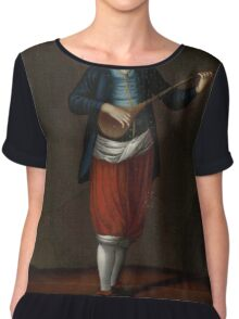 Man from the Island of Sérifos, workshop of Jean Baptiste Vanmour, Chiffon Top