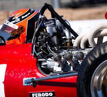 1969 Ferrari 312 F1 'Close Up and Personal' by DaveKoontz