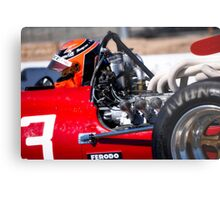 1969 Ferrari 312 F1 'Close Up and Personal' Metal Print