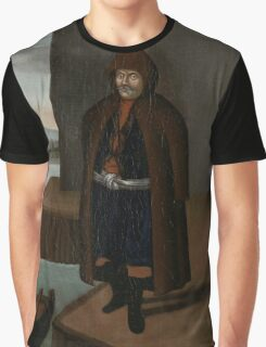 Man from the Island of Patmos, workshop of Jean Baptiste Vanmour, Graphic T-Shirt