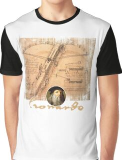 leonardo inventor  Graphic T-Shirt