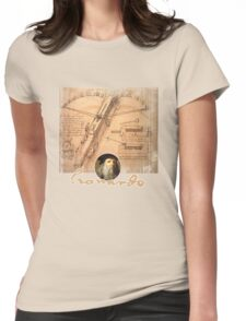 leonardo inventor  Womens Fitted T-Shirt