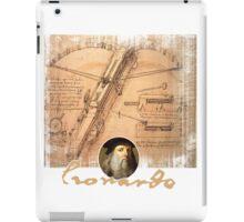 leonardo inventor  iPad Case/Skin