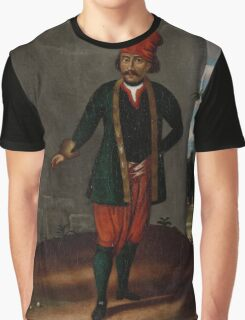 Man from the Island of Tinos, workshop of Jean Baptiste Vanmour, Graphic T-Shirt