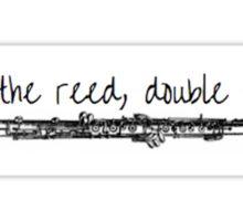 Oboe Sticker Sticker