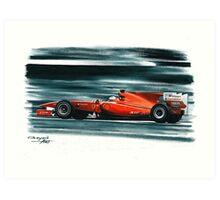 2010 Ferrari F10 Art Print