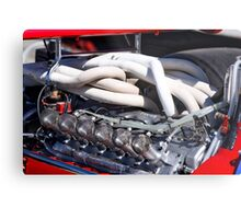1969 Ferrari 312 F1 'Heart of Performance' Metal Print