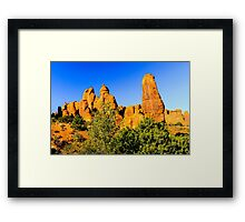 Arches National Park Towers Framed Print
