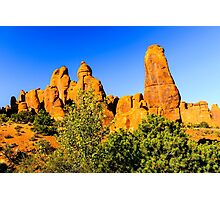 Arches National Park Towers Photographic Print