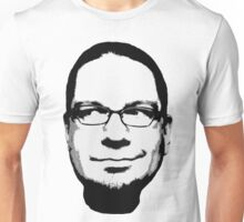 Penn Jillette floating head (white) Unisex T-Shirt