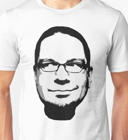 Penn Jillette floating head (white) Unisex T-Shirt
