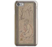 Man with a Ram, Folio from the Bellini Album iPhone Case/Skin