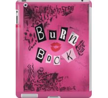 Burn book iPad Case/Skin
