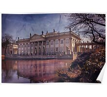 Palace on The Water  Warsaw Poster