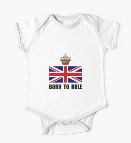 Royal Crown Rule One Piece - Short Sleeve