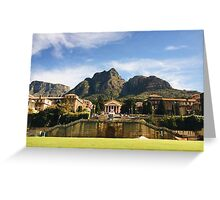 The University of Cape Town Greeting Card