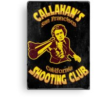 Callahan's Shooting Club Vintage Canvas Print