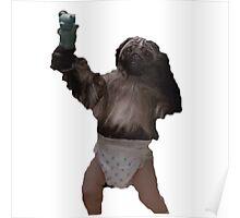 Puppy-Monkey-Baby Poster