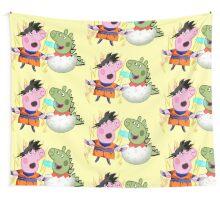 dragon pig Wall Tapestry
