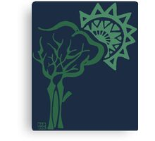 Tribal Tree Canvas Print